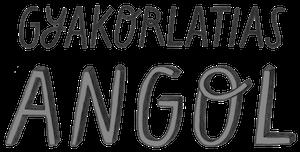 Gyakorlatias Angol logó